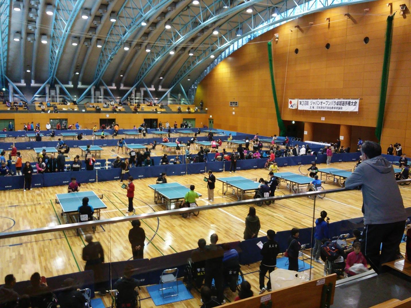 第38回ジャパンオープン・パラ卓球選手権大会 結果報告 | トヨタ ...